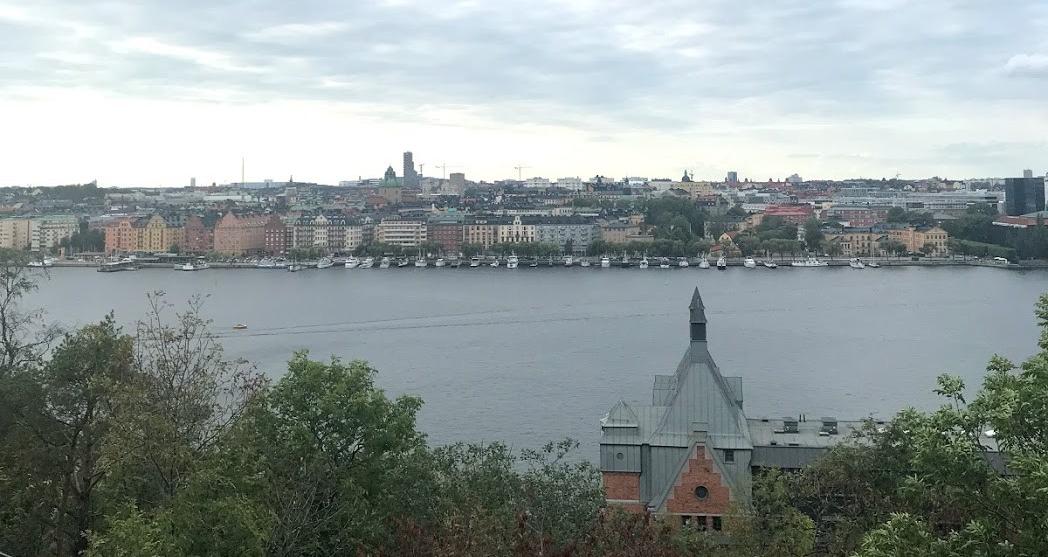 Skinnarviksberget in Stockholm, Sweden